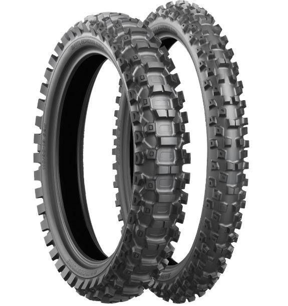 80/100R21 51M, Bridgestone, X30F