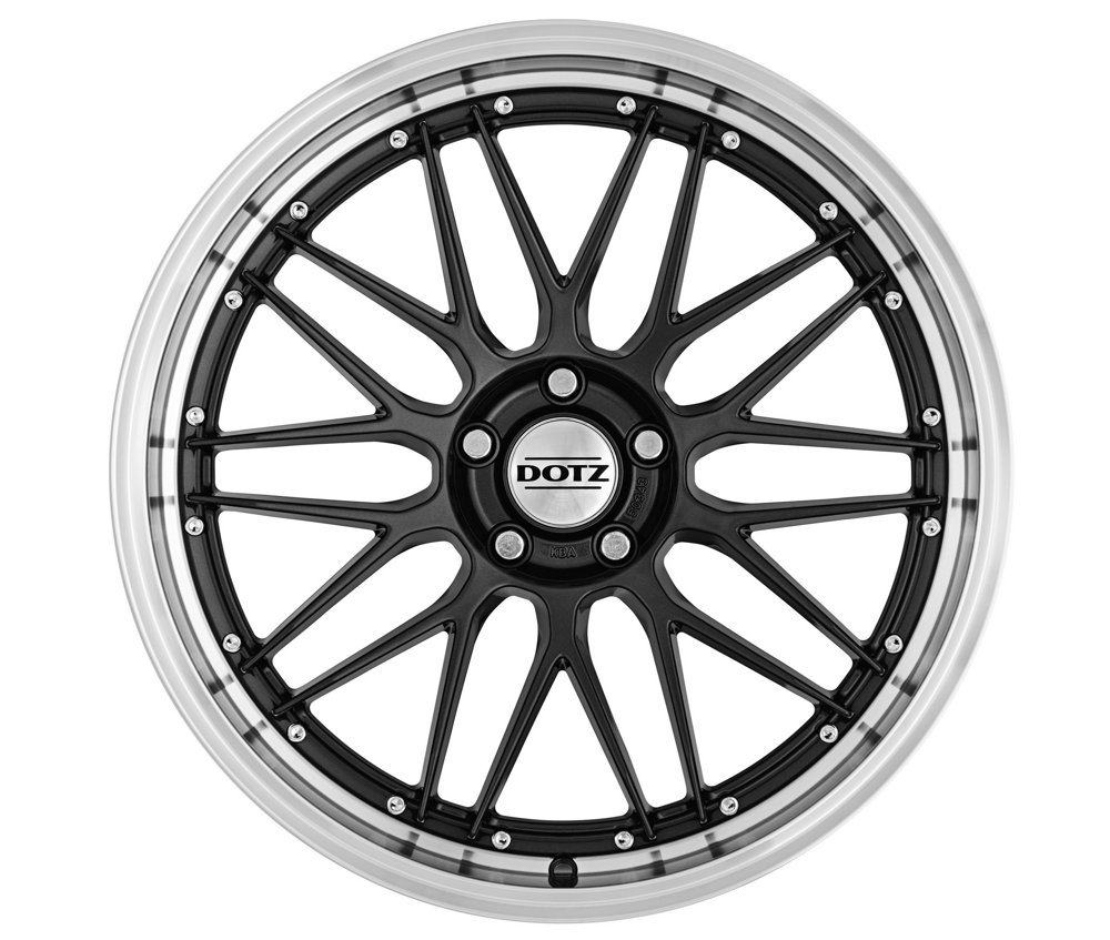 DOTZ Revvo dark 8x18, 5x100, ET 35, 60,1