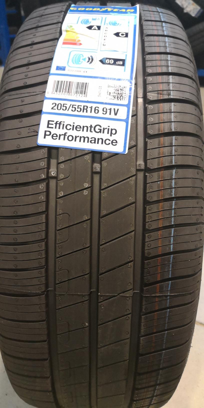 205/55R16 91V, Goodyear, Effigrip Performance