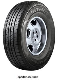 AutoGreen 265/70R16 112H, AutoGreen, SportCruiser-SC6 Osobní a SUV Letní EC71